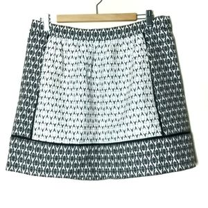 J. Crew mini skirt size 12